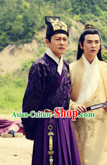 Traditional Chinese Inside Official Costumes for Men
