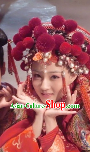 Chinese Classic Wedding Hat