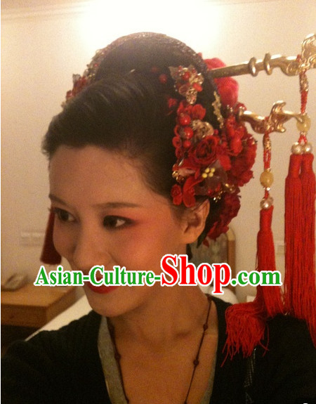Chinese Geisha Classic Hair Accessories