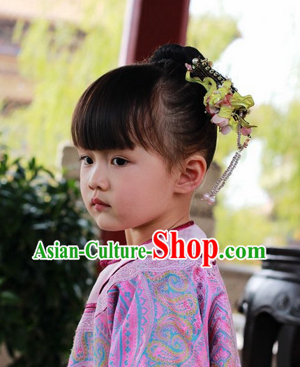 Chinese Classical Kids Princess Hair Accessories Set