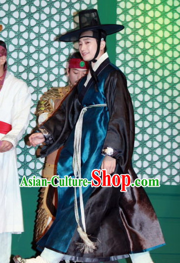 Korean National Hanbok Costumes Complete Set for Men