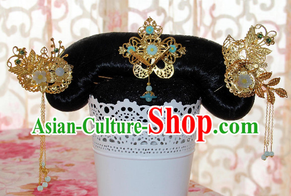 Chinese Traditional Manchu Hair Accessories