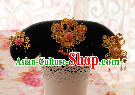 Chinese Traditional Manchu Princess Headwear