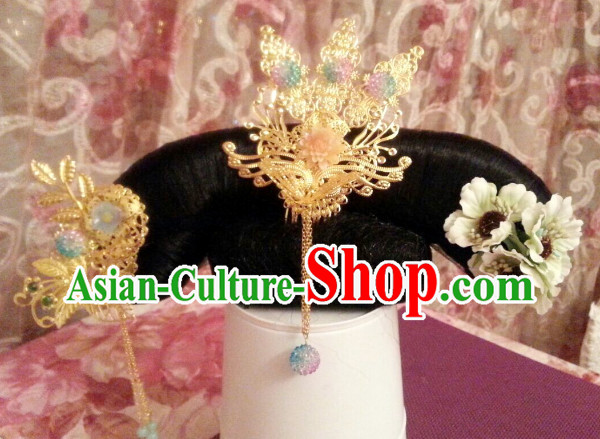 Chinese Traditional Manchu Princess Hair Decorations