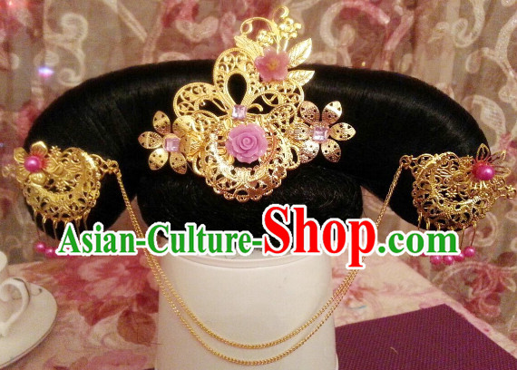Chinese Traditional Manchu Princess Hair Jewelry for Children