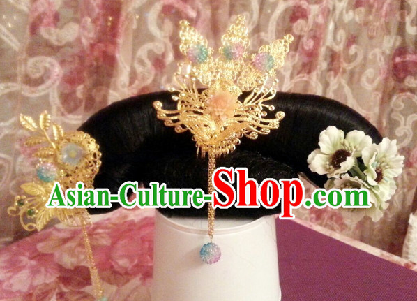 Chinese Traditional Qing Princess Headwear for Children