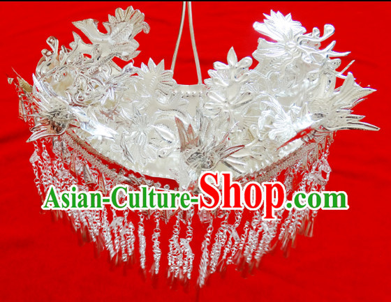 Traditional Silver Miao Headgear