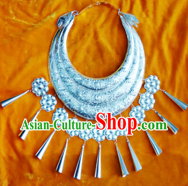 Traditional Silver Miao Necklace