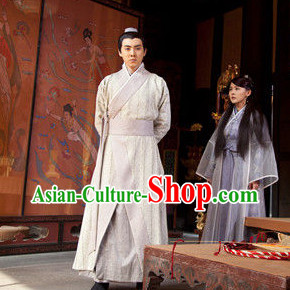 China Men Hanfu Long Robe for Men