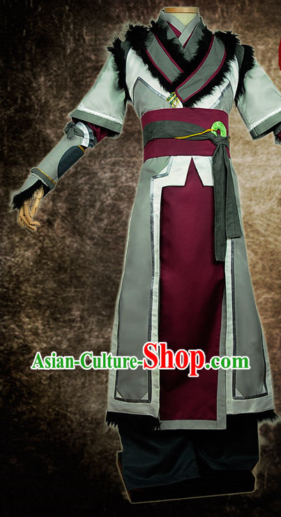 Chinese Ancient Superhero Cosplay Costumes Complete Set for Men