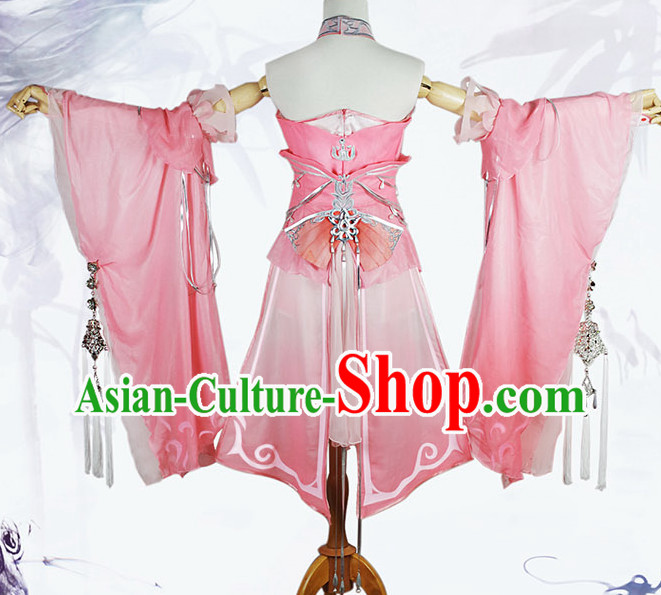 Asian Empire Princess Cosplay Costume Complete Set