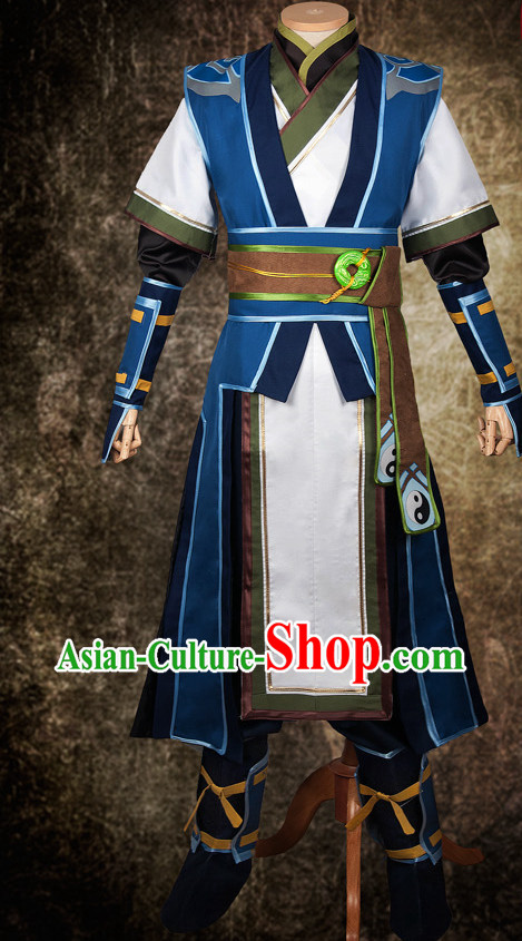 China Anime Cosplay Shop Swordsmen Costumes