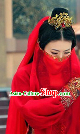 Chinese Ancient Style Beauty Veil for Women