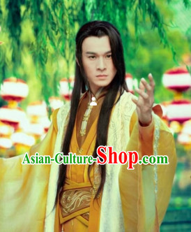 China Ancient Swordsman Costumes Full Set