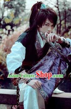 Asian Traditional Fencer Costumes for Men