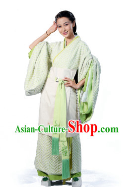 Asian China Traditional Princess Hanfu Clothes for Women