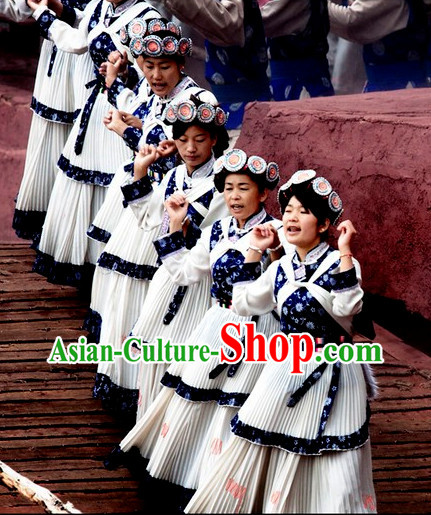 Yunnan Naxi Clothing and Ornaments