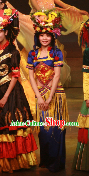 Chinese Minority Women's Clothing