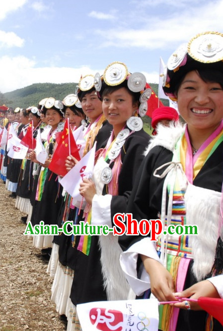 Chinese Minority Group Costume   Accessories of Naxi