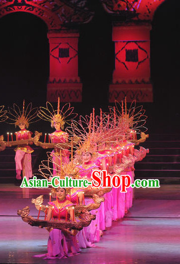 Chinese Dai Minority Group Costume   Accessories