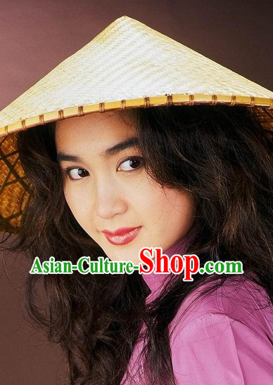 Chinese Classic Bamboo Hat
