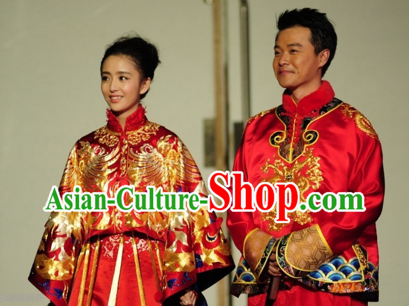 Chinese Wedding Dresses for Men and Women