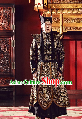 Chinese TV Play Costumes for Ming Dynasty Bad Official