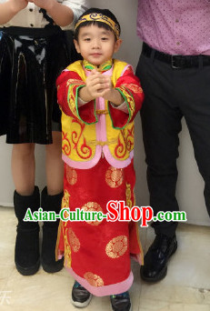Chinese Theme Photography Costumes for Boys