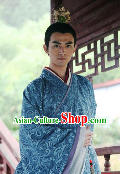 Chinese Prince TV Play Costumes and Coronet