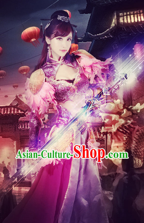 Asian Style Sexy Halloween Costumes for Women