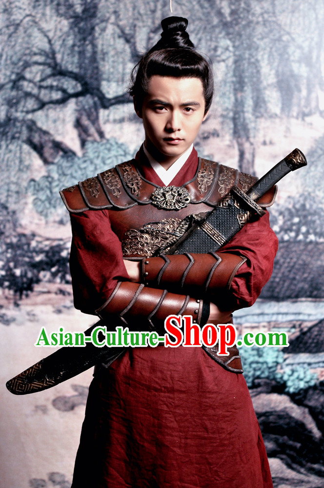 Ancient Chinese General Suit for Men