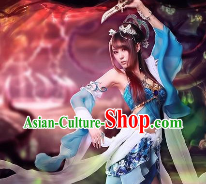 Asian Sexy Japanese Princess Anime Costumes