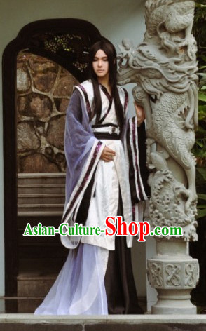China Classical Wizard Costumes for Men