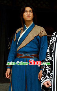 Chinese Traditional Kung Fu Performance Long Robe