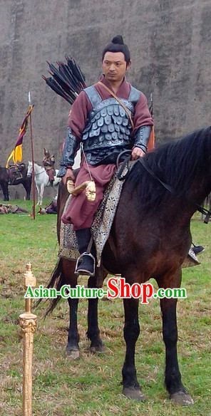 China Ancient Warrior Armor Suit for Men