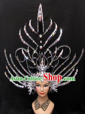 Chinese Professional Stage Hair Decorations