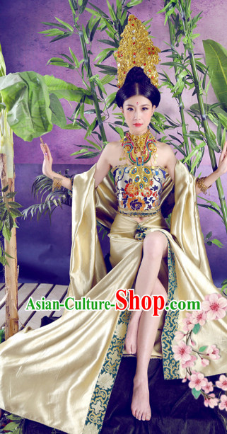 Mysterious Ethnic Queen Costumes and Hat