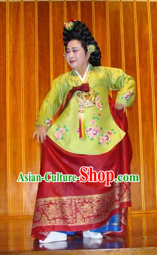 Korean Traditional Tang Hanbok Dress for Women