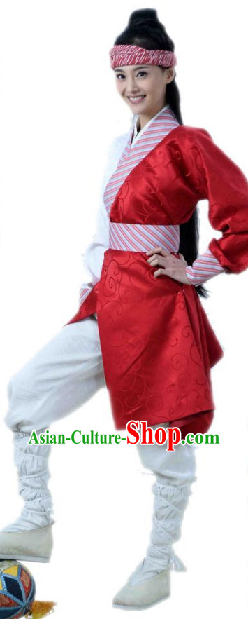 Chinese Ancient Football Player Clothes