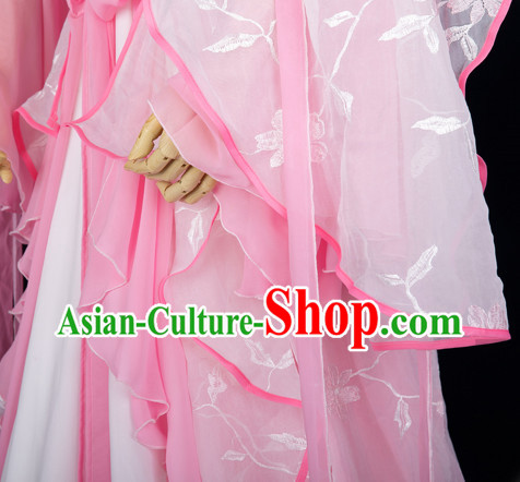 Chinese Pink Princess Clothing for Girls