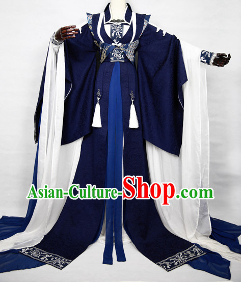 Chinese Prince Cosplay Shop Costumes Complete Set