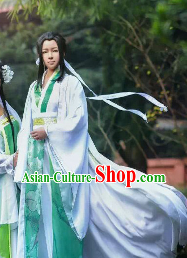 Chinese Handsome Men Costumes