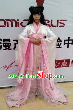 Chinese Spring Peach Flower Costumes