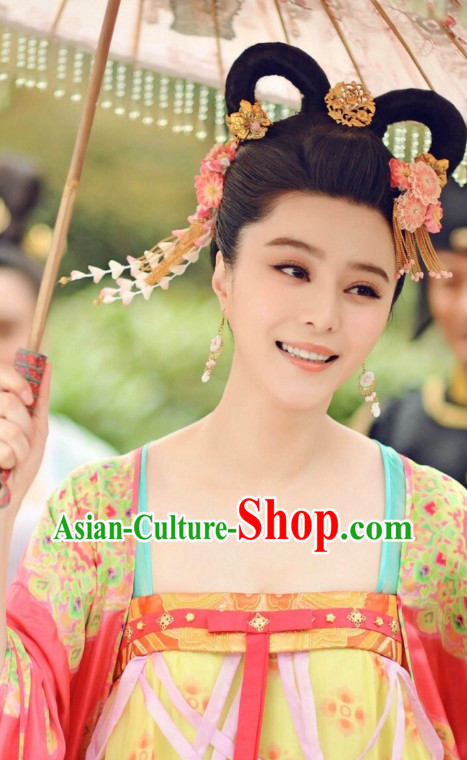 Tang Dynasty Wu Zetian Female Emperor Beauty Hair Jewelry