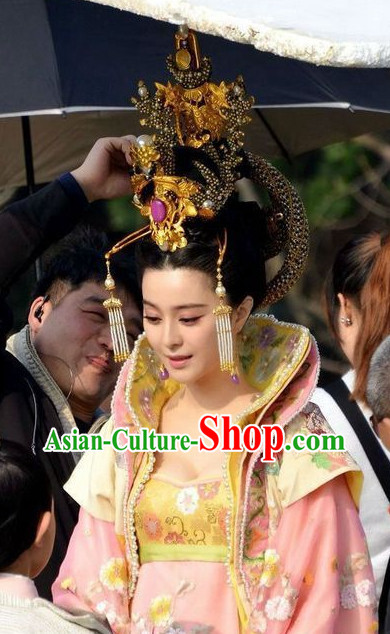 Tang Dynasty Wu Zetian Female Emperor Hair Accessories Clips