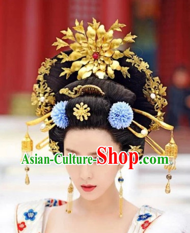 Chinese Traditional Wedding Hair Pieces