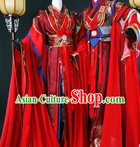 China Traditional Imperial Wedding Clothing