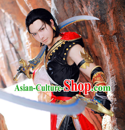 Traditioal Chinese Black Cosplay Wig for Sale