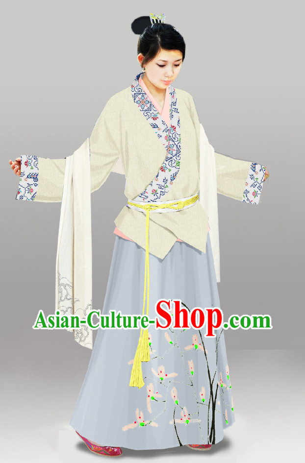 China Classical Lady Hanfu Clothing