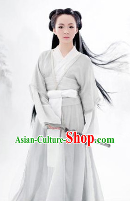 Chinese Traditional Hanfu Clothing for Girls